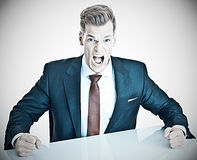 Anger management Stock Photo