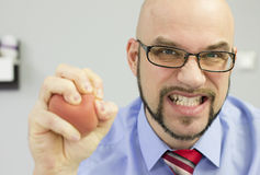 Anger management stock photography