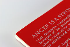 Anger Management Royalty Free Stock Photography