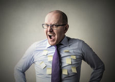 Anger posits Stock Image