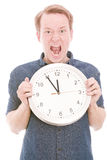 Anger time Stock Photo