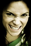 Anger woman Stock Photography