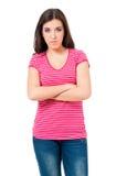 Anger woman Stock Photo