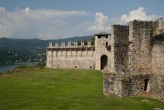 Angera Castle Στοκ Φωτογραφία