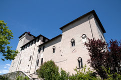 Angera Castle - Fortress (Rocca Borromea) Royalty Free Stock Images