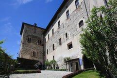 Angera Castle - Fortress (Rocca Borromea) Stock Photo