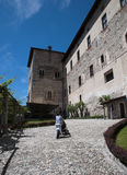 Angera Castle - Fortress (Rocca Borromea) Royalty Free Stock Photo