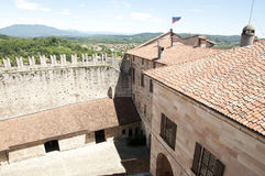 Angera Castle - Fortress (Rocca Borromea) Royalty Free Stock Photos