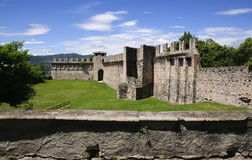 Angera Castle - Fortress (Rocca Borromea) Stock Image