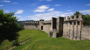 Angera Castle - Fortress (Rocca Borromea) Royalty Free Stock Photos