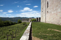 Angera Castle - Fortress (Rocca Borromea) Stock Photos