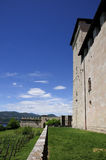 Angera Castle - Fortress (Rocca Borromea) Stock Image