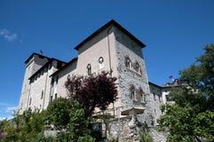 Angera Castle - Fortress (Rocca Borromea) Stock Photography