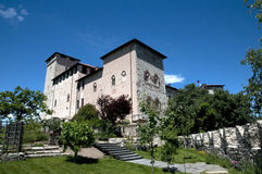 Angera Castle - Fortress (Rocca Borromea) Royalty Free Stock Image