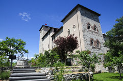 Angera Castle - Fortress (Rocca Borromea) Royalty Free Stock Image