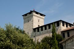 Angera-Schloss Stockbild