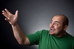 The angered man Royalty Free Stock Photography