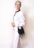 Angeredete Eleganz Stockbild