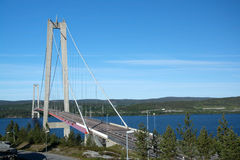 Angermanaelven, Σουηδία Στοκ φωτογραφία με δικαίωμα ελεύθερης χρήσης