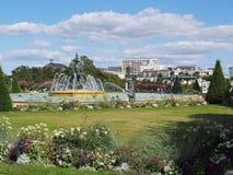 Angers, κήπος ταχυδρομείου, τον Αύγουστο του 2013, Γαλλία Στοκ φωτογραφία με δικαίωμα ελεύθερης χρήσης