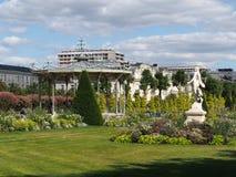 Angers, κήπος ταχυδρομείου, τον Αύγουστο του 2013, Γαλλία Στοκ εικόνες με δικαίωμα ελεύθερης χρήσης