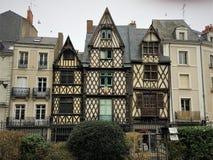 Angers - μια πόλη στο δυτικό τμήμα της Γαλλίας η κοιλάδα της Loire Στοκ Φωτογραφίες