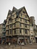 Angers - μια πόλη στο δυτικό τμήμα της Γαλλίας η κοιλάδα της Loire Στοκ φωτογραφία με δικαίωμα ελεύθερης χρήσης