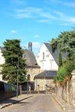 Angers, νοσοκομείο Αγίου John (Pays-de-Loire, Γαλλία) Στοκ Φωτογραφίες