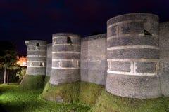 Angers Castle, πόλη της Angers, Γαλλία Στοκ Εικόνα