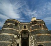Angers Castle, πόλη της Angers, Maine-et-Loire, Γαλλία Στοκ φωτογραφίες με δικαίωμα ελεύθερης χρήσης