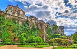 Angers Castle στην κοιλάδα της Loire, Γαλλία Στοκ εικόνες με δικαίωμα ελεύθερης χρήσης