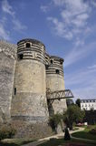 Angers Castle Royalty Free Stock Images