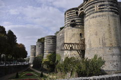 Angers Castle Royalty Free Stock Photography