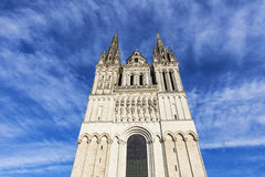 Angers Cathedral Royalty Free Stock Image