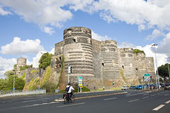 Angers Chateau Stock Photos