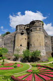 Angers Chateau Stock Images