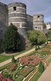 Angers Kasteel royalty-vrije stock fotografie