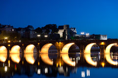 Angers , Loire Valley Royalty Free Stock Photo
