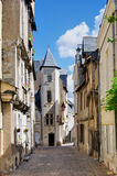 Angers, old town Royalty Free Stock Photo