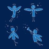 anges illustration libre de droits