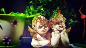 Anges d'amour Photo libre de droits