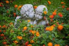 Anges dans l'amour Photographie stock libre de droits
