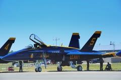 Anges de bleu marine des USA Images stock