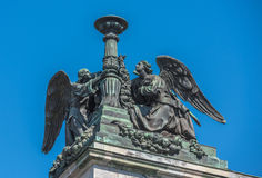 Anges de cathédrale d'Isaac's de saint, StPetersburg, Russie Photographie stock