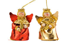 Anges de Noël Images libres de droits