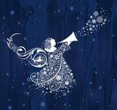 Anges de Noël. illustration de vecteur