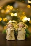 Anges de Noël Images stock