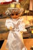 Anges de Noël blanc Images libres de droits