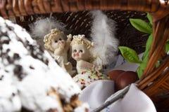 Anges de Pâques Photo libre de droits
