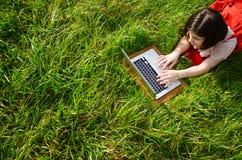 Angeschlossen an das Internet der Natur Lizenzfreie Stockfotos